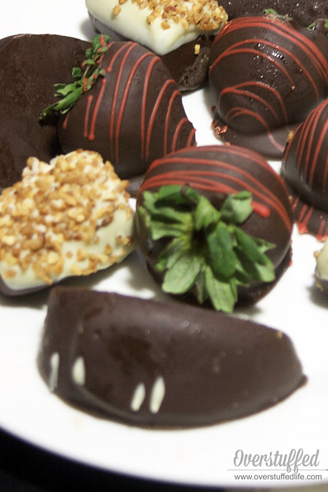 Chocolate covered fruit by edible arrangements