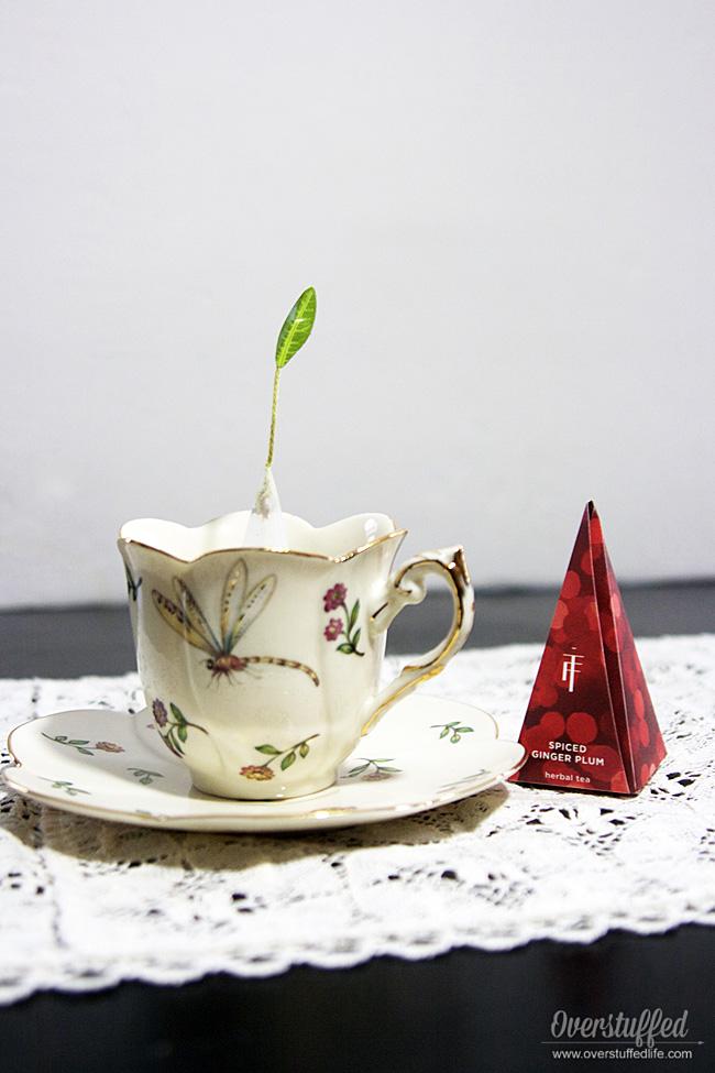Tea forte warming joy holiday tea collection