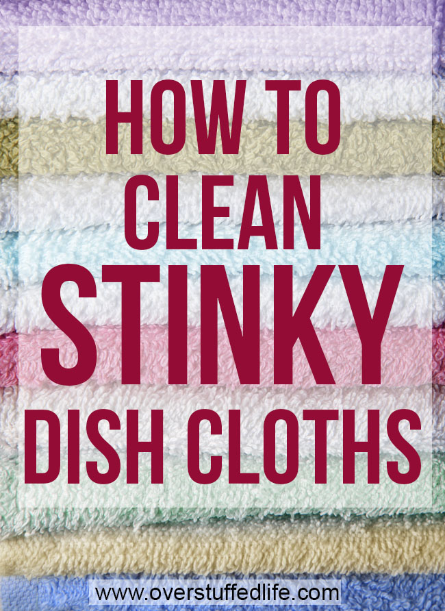 How to clean stinky dishcloths and keep your towels smelling fresh for good!