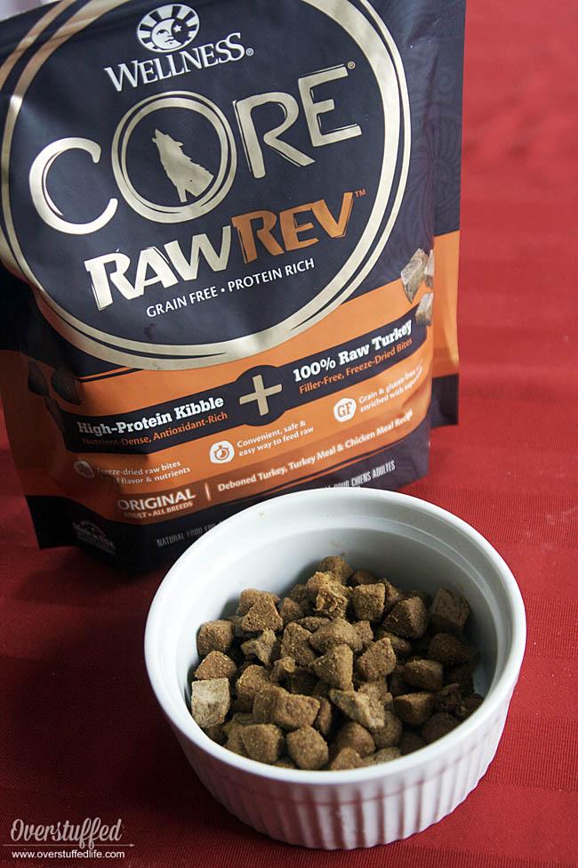 Wellness core natural pet food