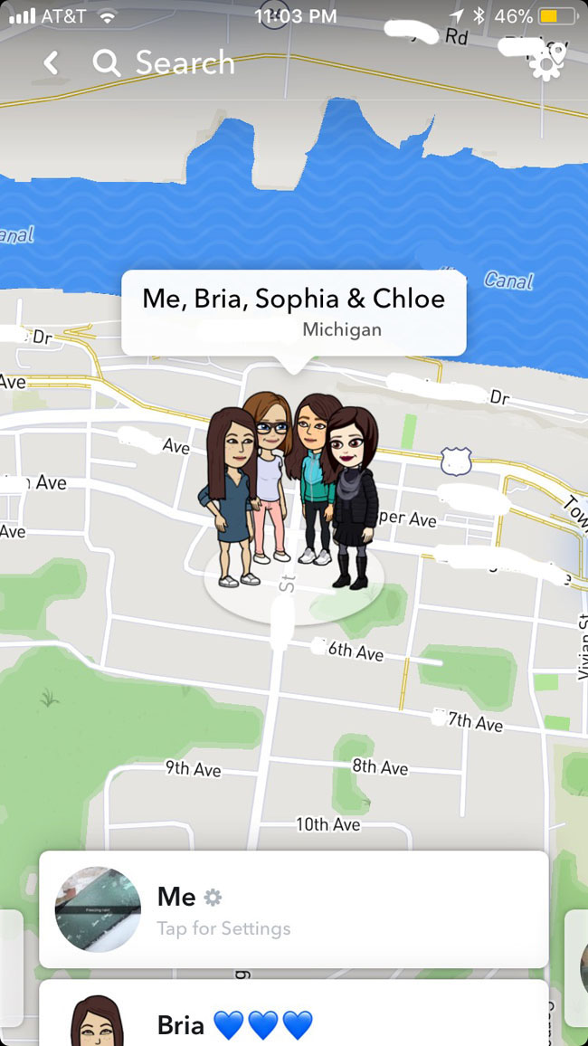 How the snapmap works on snapchat