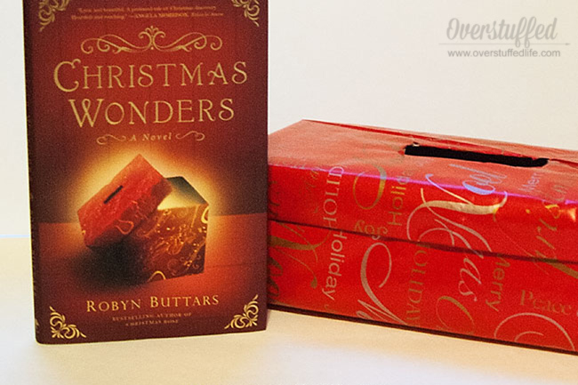 A Christmas Wonders box is a great idea for a family Christmas tradition that keeps the focus on gratitude