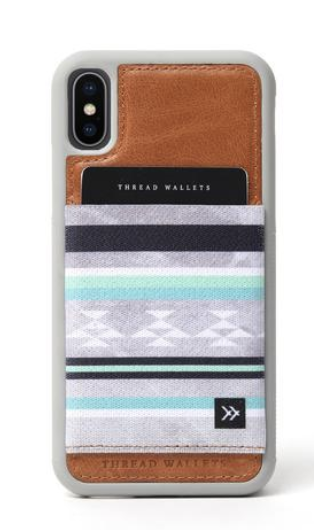 Thread wallet phone case