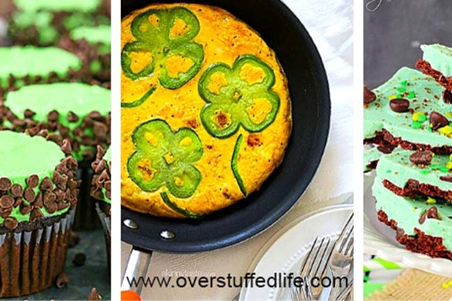 What to make on St. Patrick's Day? Try one of these fun green foods!