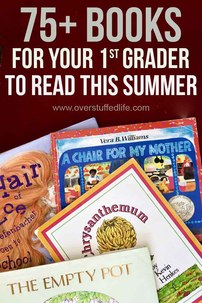 The benefits of summer reading are huge—especially for early readers. Use this list to find the best summer reading books for your first grader!
